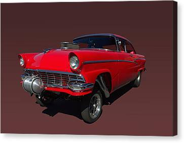 1956 Ford  Pro Street Dragster Canvas Print by Tim McCullough