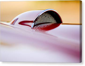 1957 Chevrolet Corvette Convertible Scoop Canvas Print by Jill Reger