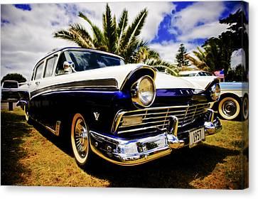 1957 Ford Custom Canvas Print by motography aka Phil Clark