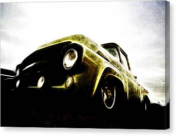 1957 Ford F100 Pickup Canvas Print by motography aka Phil Clark