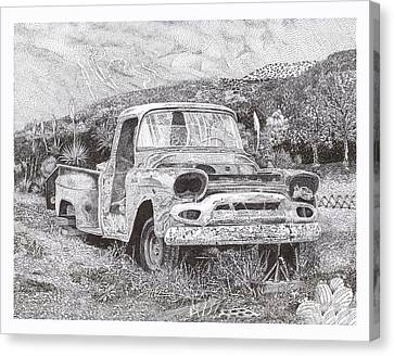 Ran When Parked Canvas Print by Jack Pumphrey