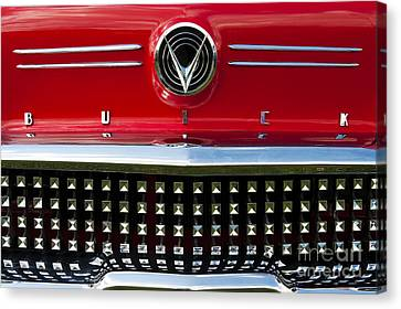 1958 Buick Special Car Canvas Print by Tim Gainey