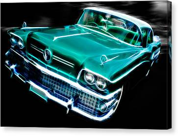 1958 Buick Special Canvas Print by Phil 'motography' Clark