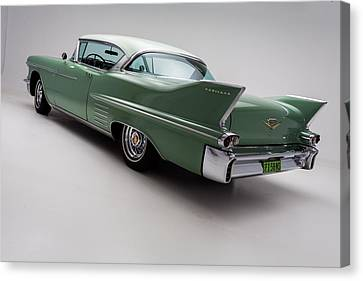 1958 Cadillac Deville Canvas Print by Gianfranco Weiss