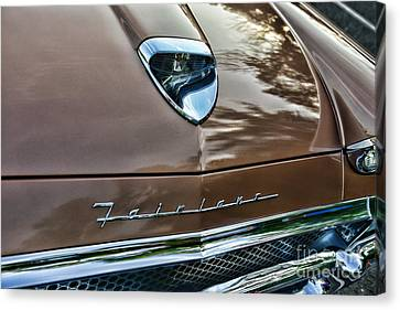 1958 Ford Fairlane 500 Skyliner Canvas Print by Paul Ward