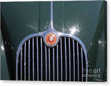 1959 Jaguar Xk150 Dhc 5d23300 Canvas Print by Wingsdomain Art and Photography