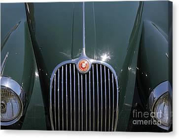 1959 Jaguar Xk150 Dhc 5d23301 Canvas Print by Wingsdomain Art and Photography