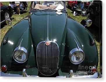 1959 Jaguar Xk150 Dhc 5d23302 Canvas Print by Wingsdomain Art and Photography