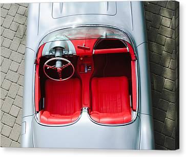 1960 Chevrolet Corvette Interior Canvas Print by Jill Reger