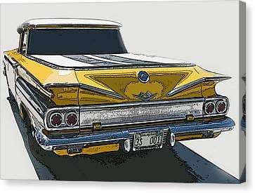 1960 Chevrolet El Camino Canvas Print by Samuel Sheats