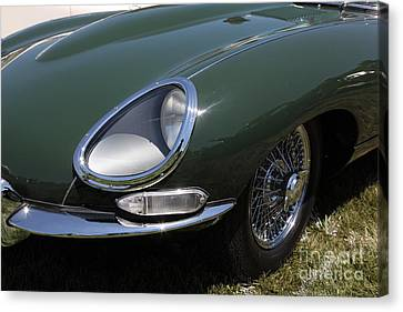 1961 Jaguar Xke Roadster 5d23321 Canvas Print by Wingsdomain Art and Photography