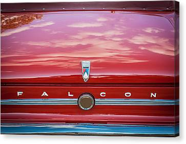 1963 Ford Falcon Sprint Convertible   Canvas Print by Rich Franco