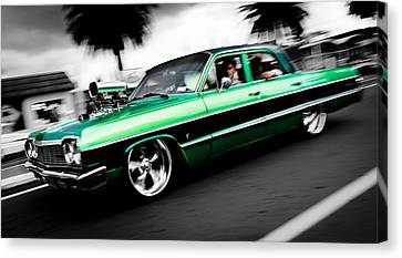 1964 Chevrolet Impala Canvas Print by Phil 'motography' Clark