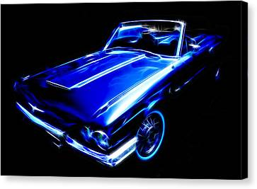 1964 Thunderbird Canvas Print by Phil 'motography' Clark
