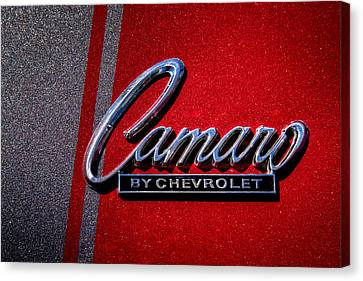 1966 Chevy Camaro Canvas Print by David Patterson