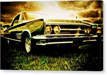 1966 Chrysler 300 Canvas Print by Phil 'motography' Clark