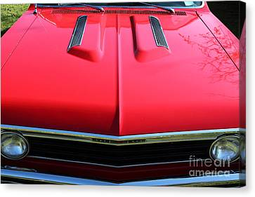 1967 Chevrolet Chevelle Ss Hotrod 5d26467 Canvas Print by Wingsdomain Art and Photography