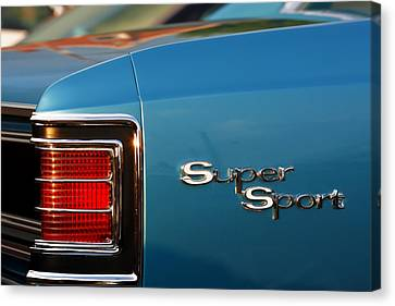 1967 Chevrolet Chevelle Super Sport Canvas Print by Gordon Dean II