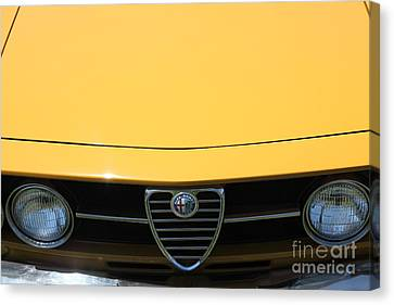 1969 Alfa Romeo 1750 Gtv Coupe 5d23172 Canvas Print by Wingsdomain Art and Photography