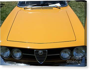 1969 Alfa Romeo 1750 Gtv Coupe 5d23173 Canvas Print by Wingsdomain Art and Photography