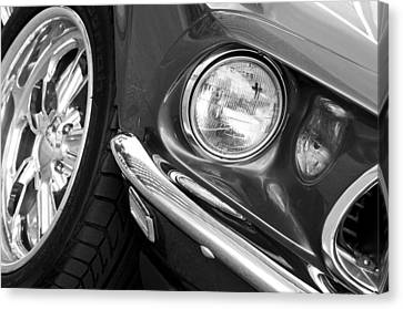 1969 Ford Mustang Mach 1 Front End Canvas Print by Jill Reger