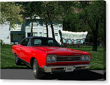 1969 Plymouth Gtx 440 Magnum Canvas Print by Tim McCullough
