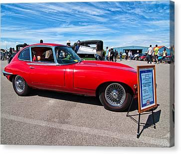 1970 Jaguar Xke 2 Plus 2 Series II Canvas Print by Steve Harrington