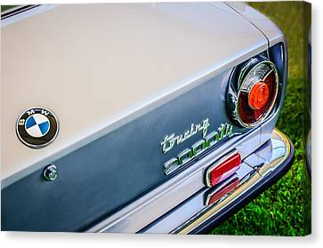1972 Bmw 2000 Touring Tii Taillight Emblem -0159c Canvas Print by Jill Reger