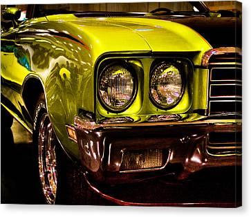 1972 Buick Skylark Custom Convertible Canvas Print by David Patterson