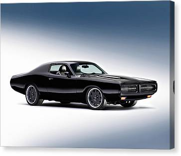 1972 Dodge Charger Canvas Print by Gianfranco Weiss