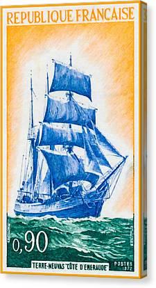 1972 Newfoundland Neuvas Emerald Coast Canvas Print by Lanjee Chee