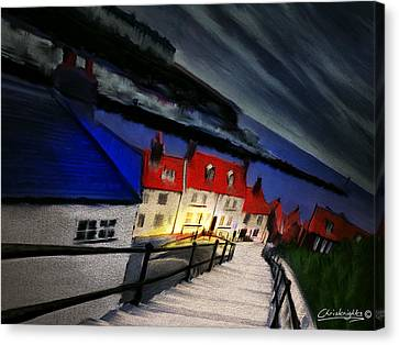 199 Steps Canvas Print by Chris Knights