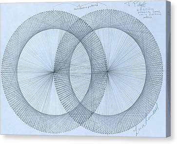 Magnetism Canvas Print by Jason Padgett