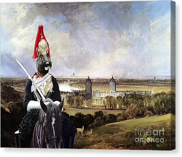 Scottish Terrier Art Canvas Print Canvas Print by Sandra Sij