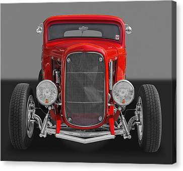 1932 Ford Canvas Print by Frank J Benz