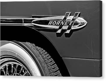 1953 Hudson Hornet Emblem Canvas Print by Jill Reger