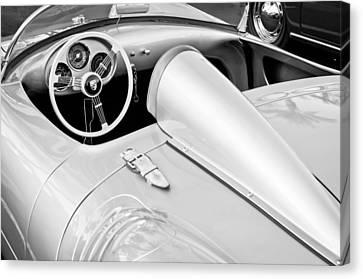1955 Porsche Spyder Canvas Print by Jill Reger