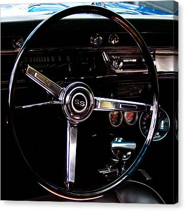 1967 Chevy Chevelle Ss Canvas Print by David Patterson
