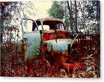 Abandoned  Journey  Canvas Print by Michael Hoard