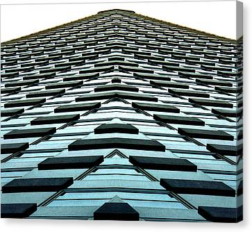 Abstract Buildings 1 Canvas Print by J D Owen