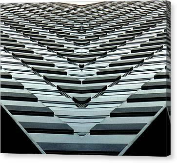 Abstract Buildings 7 Canvas Print by J D Owen