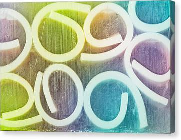 Abstract Pattern Canvas Print by Tom Gowanlock