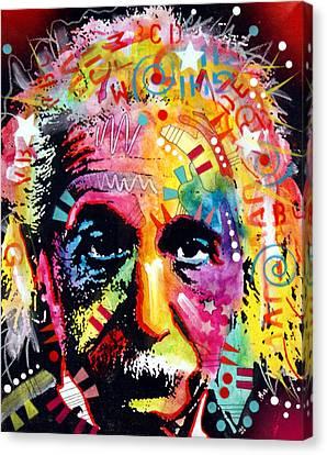 Albert Einstein 2 Canvas Print by Dean Russo