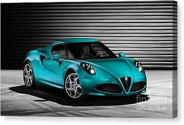 Alfa Romeo Canvas Print by Marvin Blaine