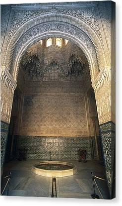 Alhambra. Spain. Andalusia. Granada Canvas Print by Everett