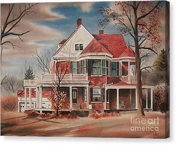 American Home IIi Canvas Print by Kip DeVore