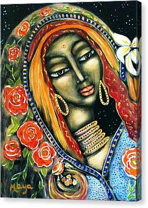 Ancient Mother Canvas Print by Maya Telford