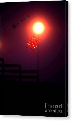 And To All A Good Night Canvas Print by The Stone Age