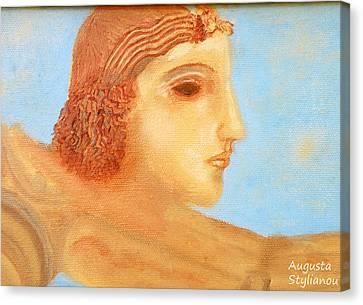 Apollo Hylates Canvas Print by Augusta Stylianou