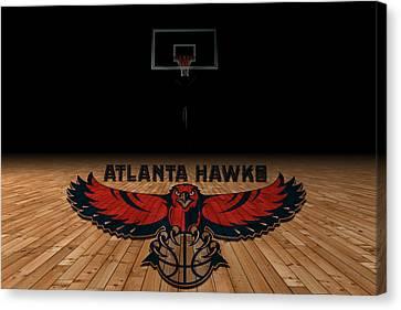 Atlanta Hawks Canvas Print by Joe Hamilton